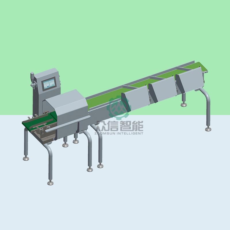 重量分拣机设备的工作原理