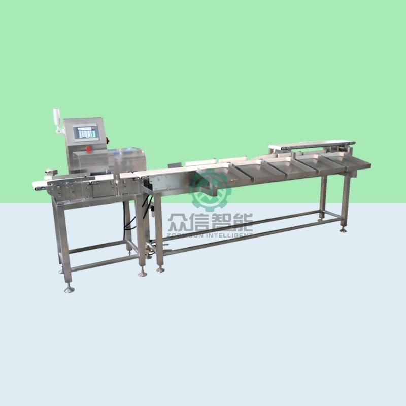 水产食品行业推荐双通道模式重量分选设备