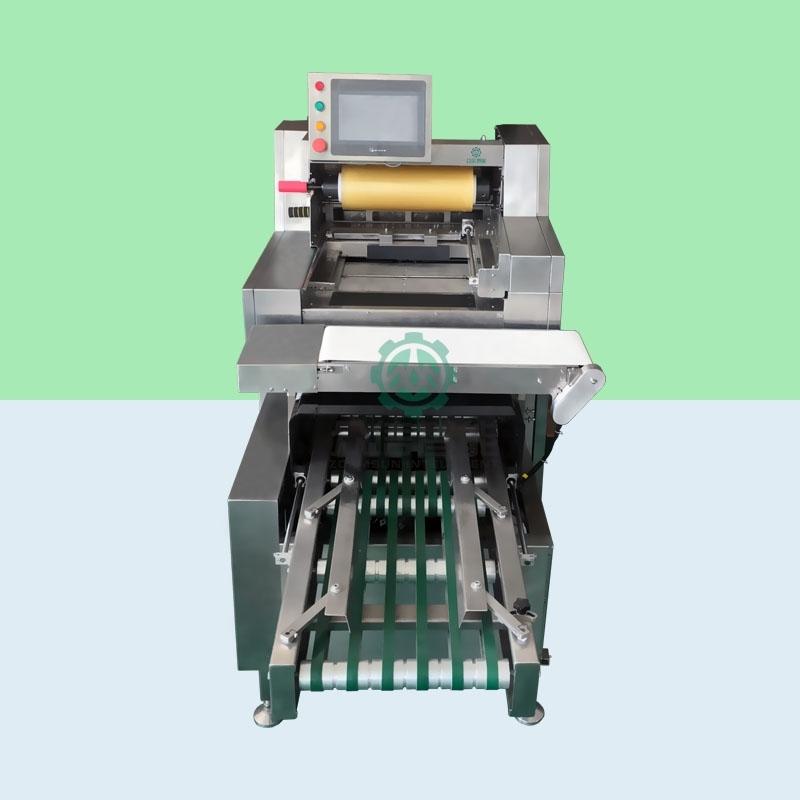 商场蔬菜自动保鲜膜包装机设备使用介绍
