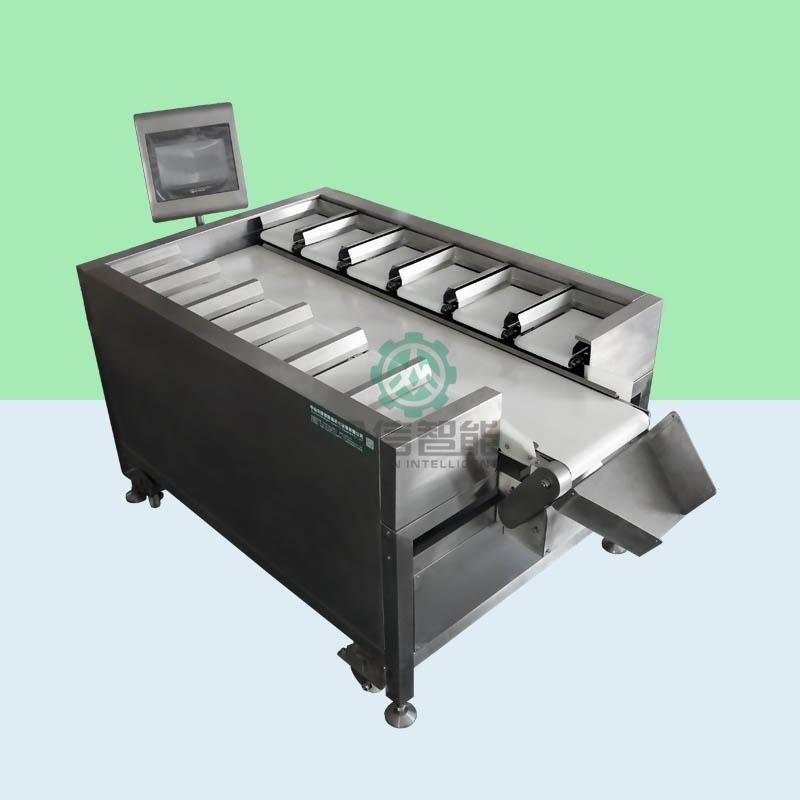 分选机应用于海鲜水产肉禽果蔬