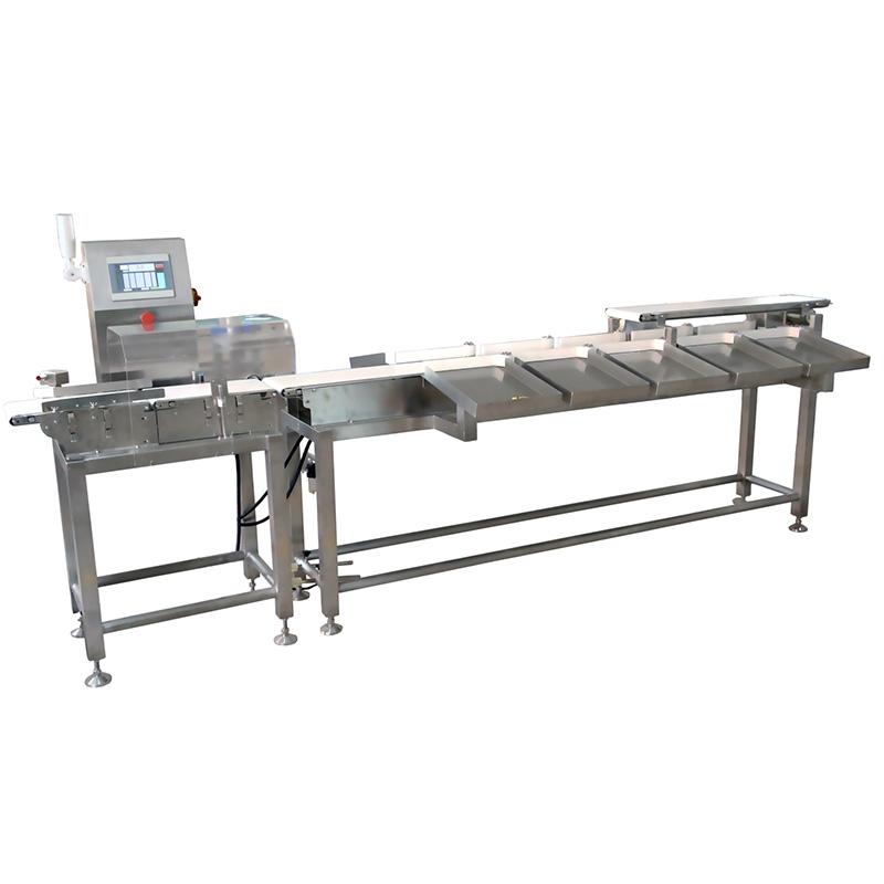 FXP4021F10皮带式多级重量分选机